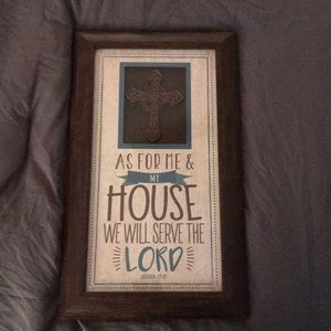Home accent- with frame